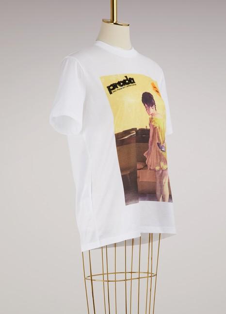 PradaT-shirt imprimé en coton