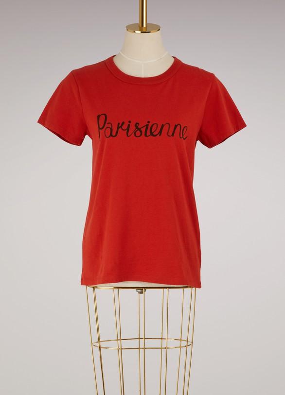 Maison KitsunéT-shirt Parisienne en coton