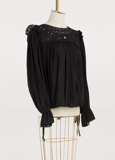 Rock cotton blouse Isabel Marant
