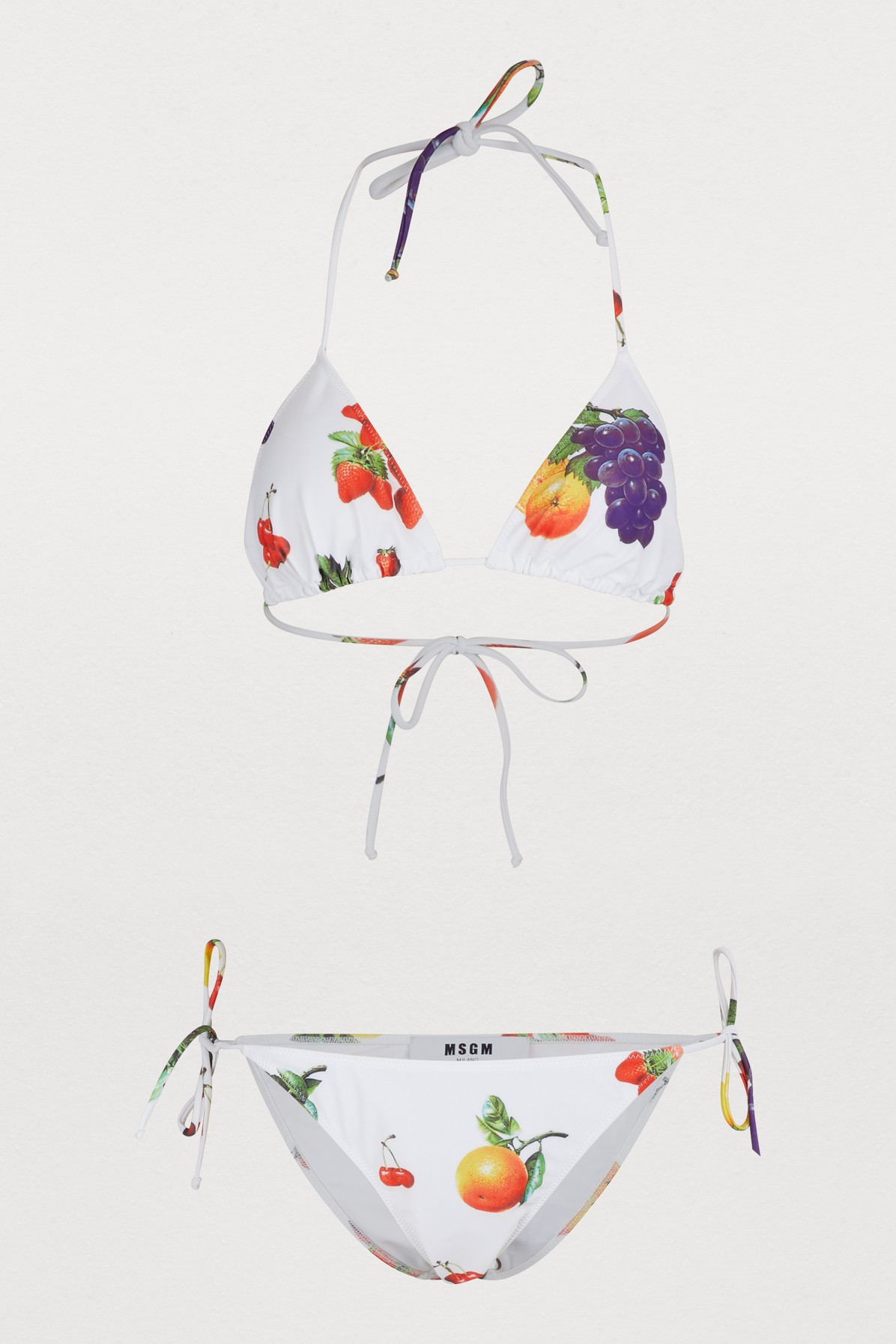 Bikini imprimés fruits