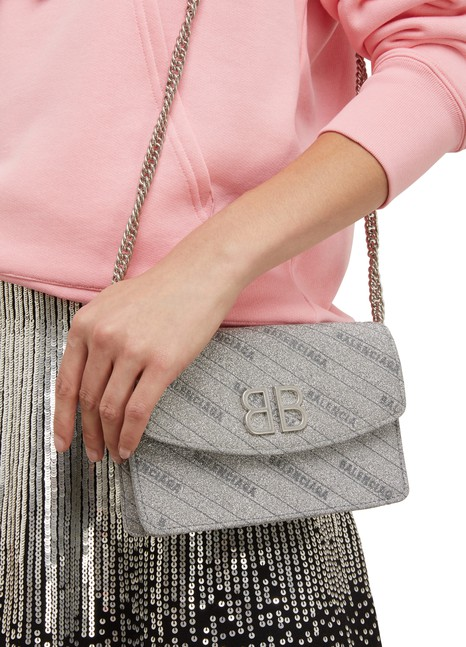 BALENCIAGABB wallet with chain