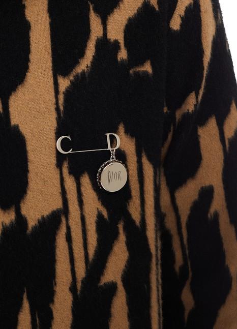 DIORBroche Dior And Raymond Pettibon en laiton