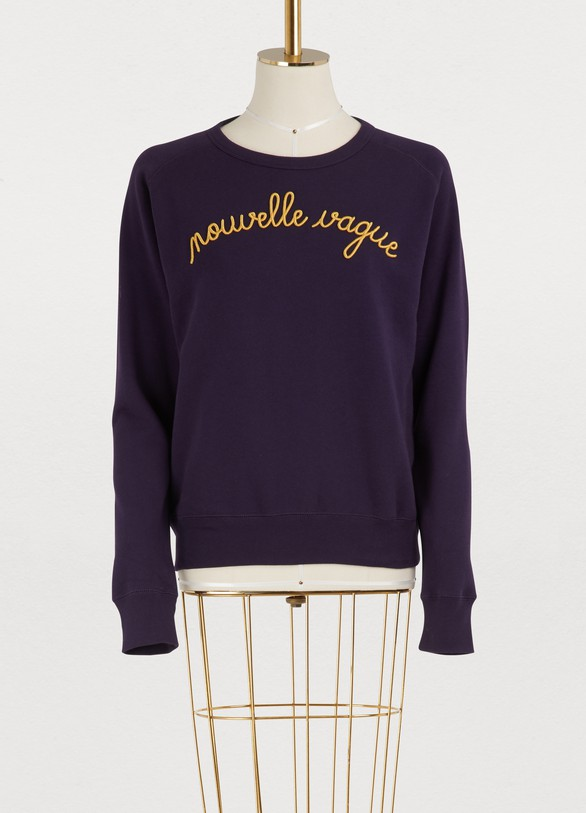 Maison Labiche Nouvelle Vague cotton sweatshirt