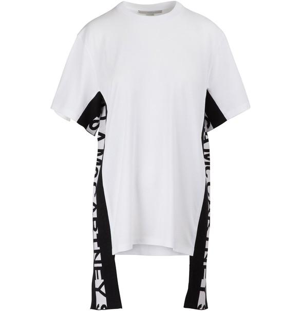 STELLA MCCARTNEYLogo stripe T-shirt