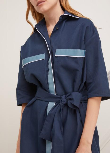 MIKO MIKOCotton shirt-dress