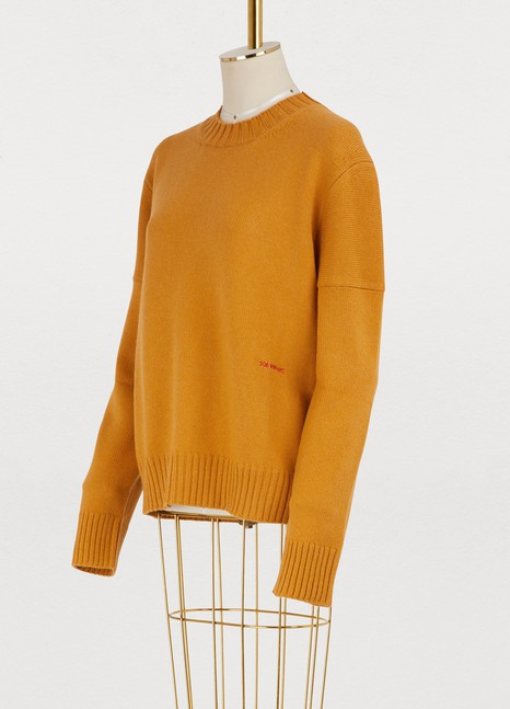 Calvin Klein 205W39NYC Oversized cashmere sweater