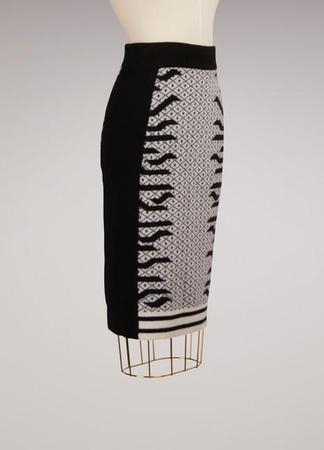 KenzoJupe mi-longue en laine