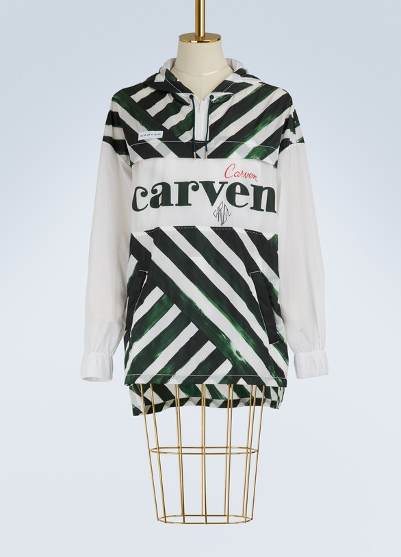 Carven Coupe vent long logo