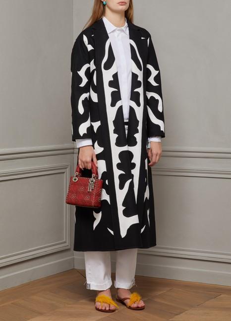 DiorManteau en laine et angora double face