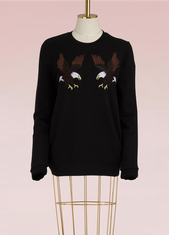 Zoe Karssen Cotton Eagle Sweatshirt