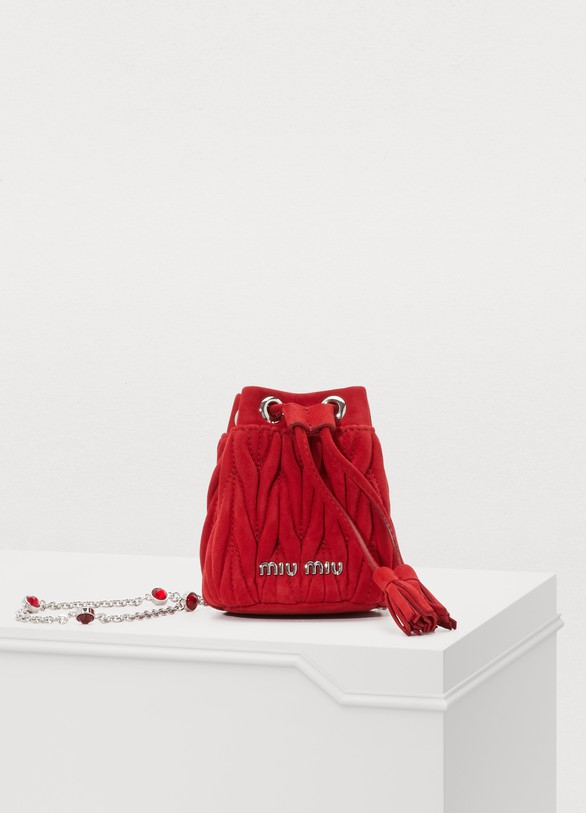 Miu Miu. Miu Miu Mini bucket bag ea0175d56025d