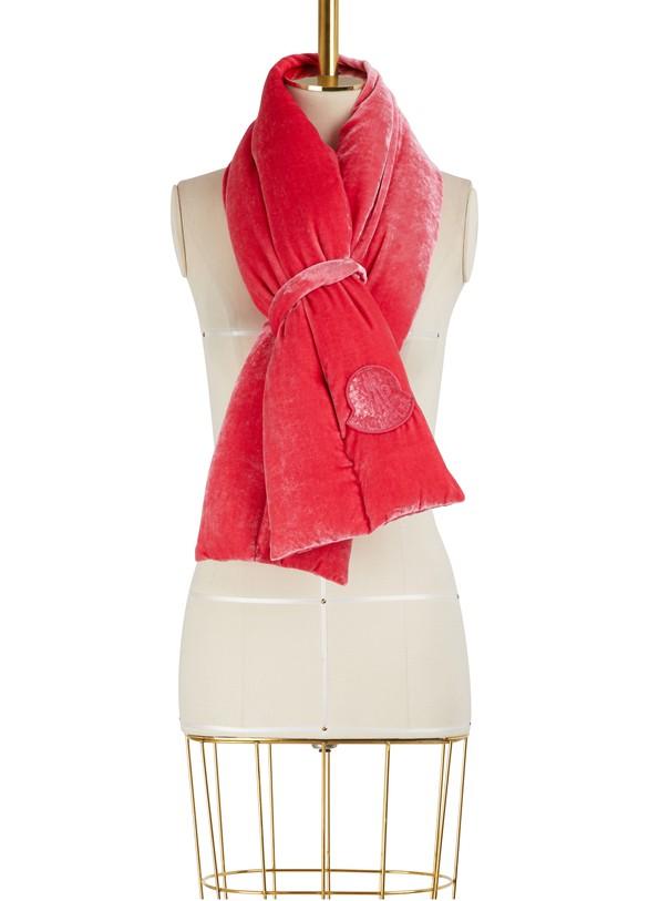 MONCLERVelvet scarf
