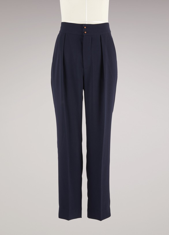 f36dab5cbe Women's Pleated Trouser | See by Chloé | 24 Sèvres