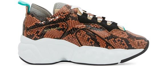 b2dee4bfa24 Manhattan faux snake sneakers