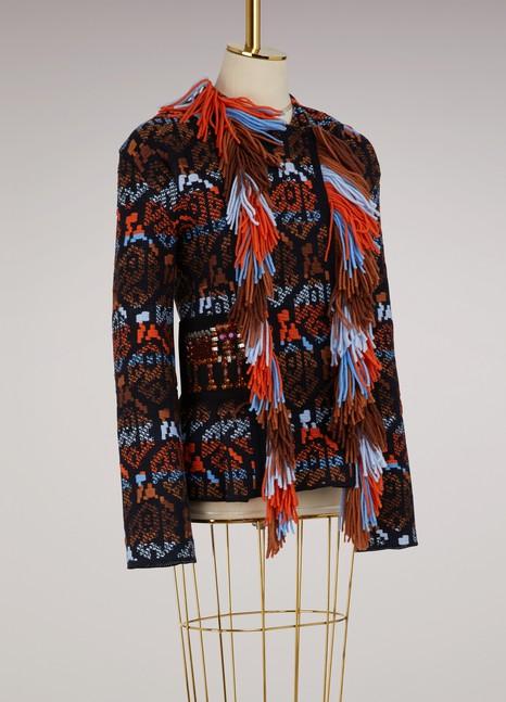 Peter PilottoWool fringed jacket