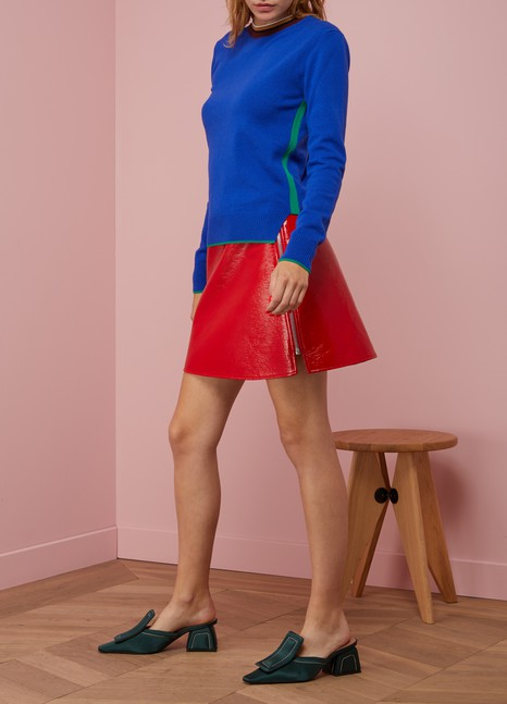 Marni Long Sleeved Silk Dress