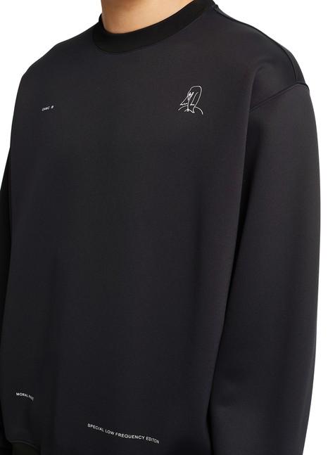 OAMCPatch round neck sweatshirt