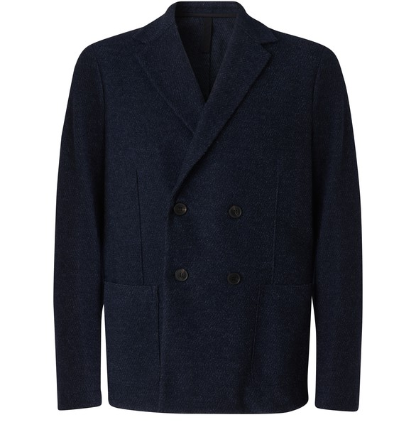 HARRIS WHARF LONDONShort double breasted jacket