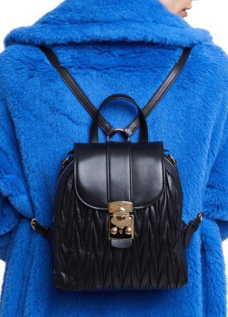 MIU MIUQuilted rucksack