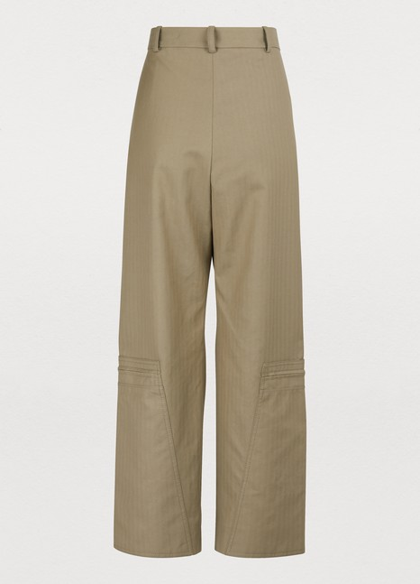 STELLA MCCARTNEY Zipped pants