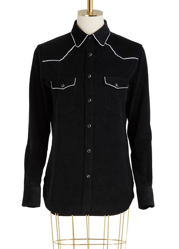 OFFICINE GENERALEFelice cotton shirt