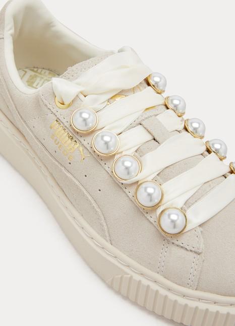 Women s Platform Bling pearl sneakers  dbeef00f3494