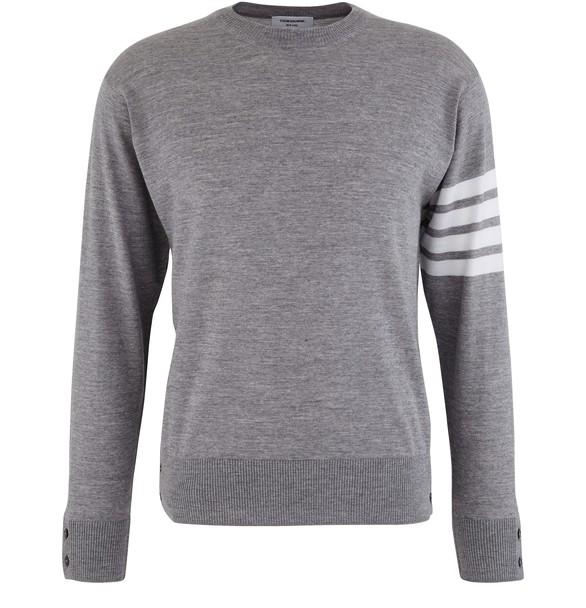 THOM BROWNE4-Bar jumper in merino wool