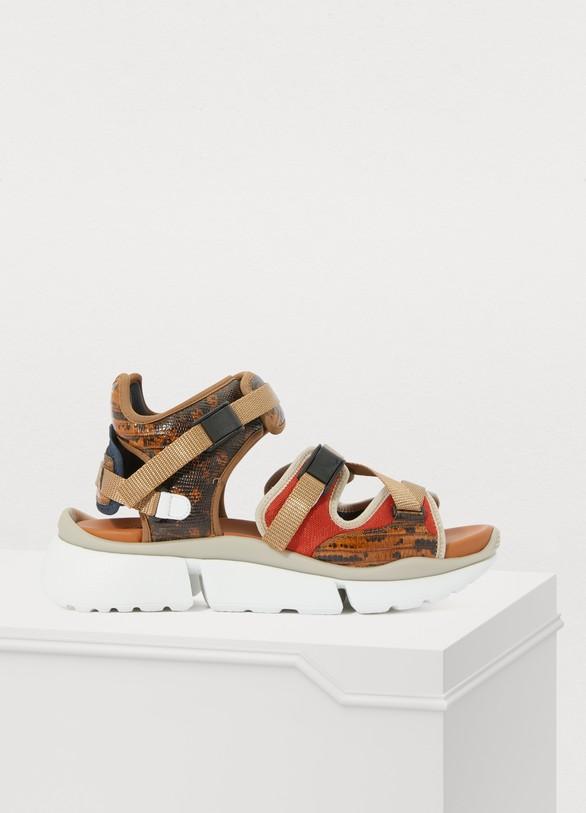ChloéSonnie sandals