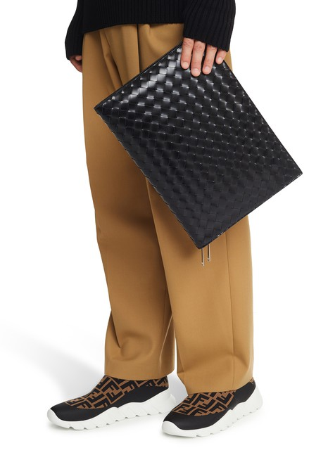 BOTTEGA VENETA  Intreccio leather portfolio