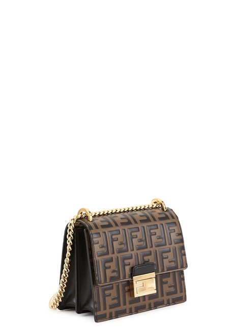 FENDI Kan U small crossbody bag