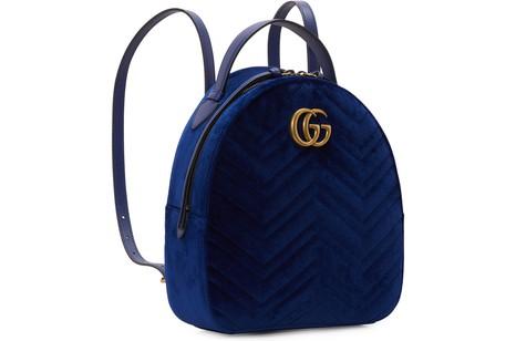 GUCCIGG Marmont velvet backpack