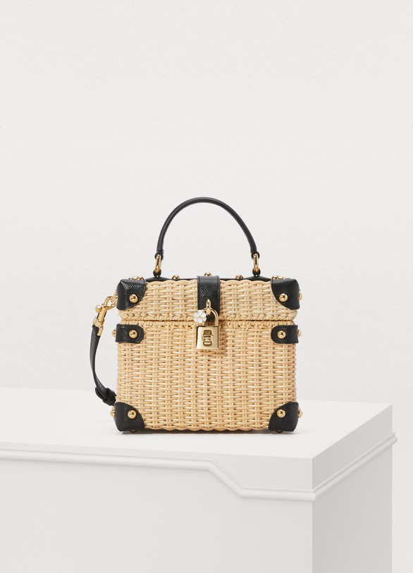 a6bc5b738868 Women s Dolce Box straw bag