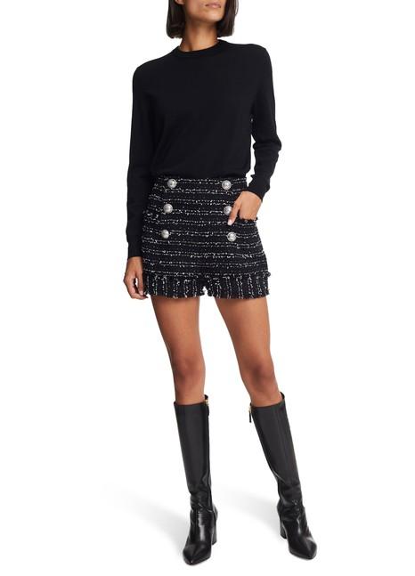 BALMAINHigh waist shorts