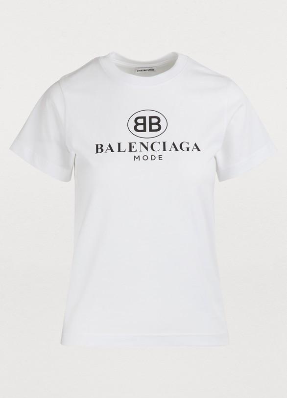 4a20a7b2 Women's Short-sleeved T-Shirt   Balenciaga   24S   24S