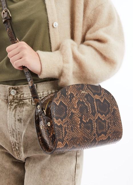 A.P.C.Half-Moon leather bag