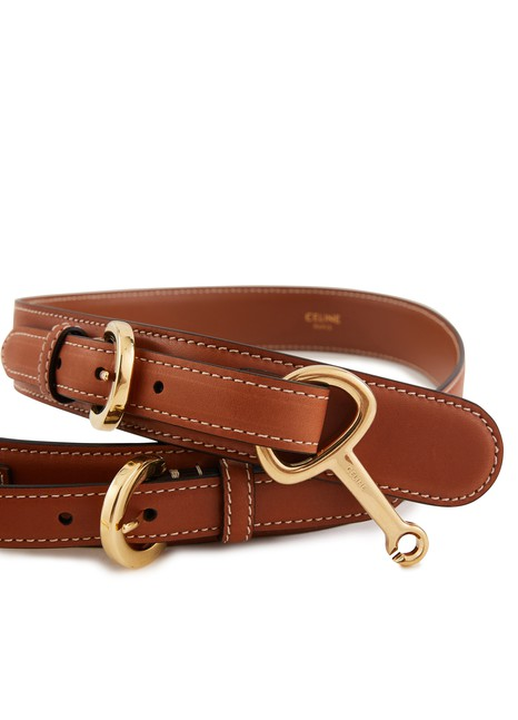 CELINE Crécy belt in smooth calfskin
