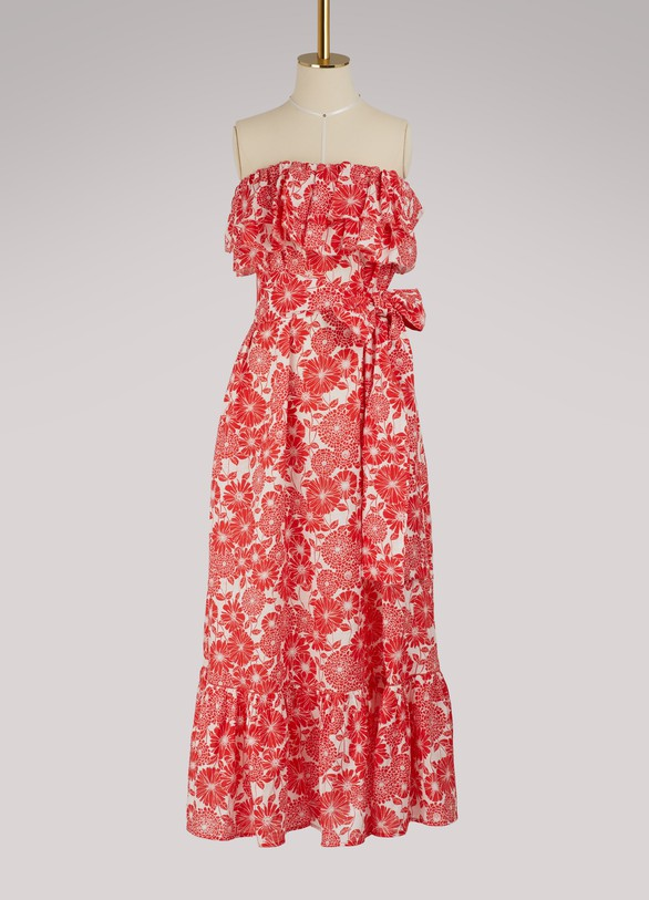 Lisa Marie FernandezSabine ruffle dress