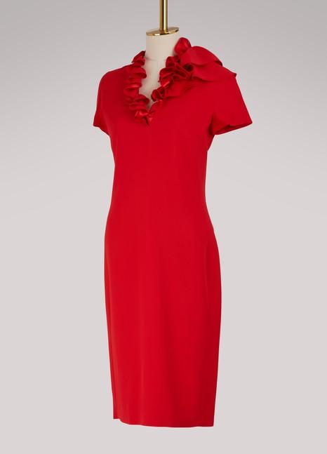 LanvinShort sleeves midi dress