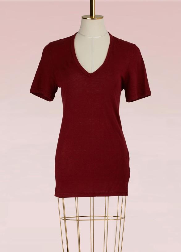 Isabel Marant EtoileT-shirt Franger en lin