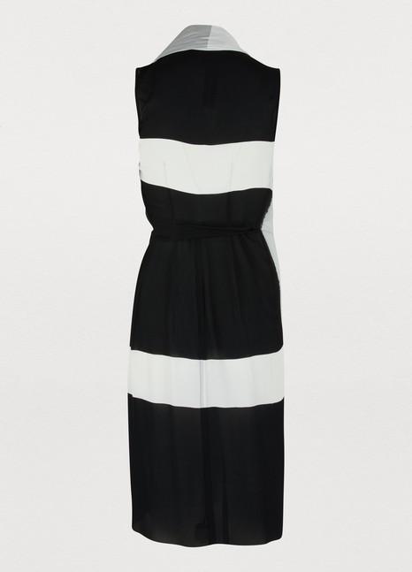 RICK OWENSWrap front midi-dress