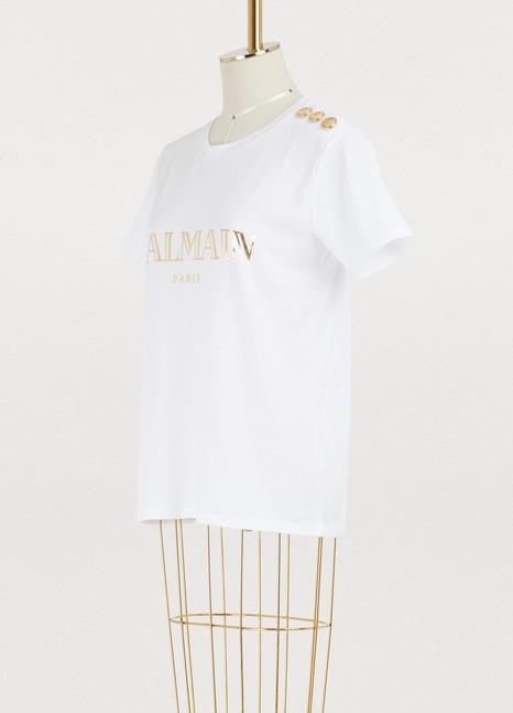 BalmainT-shirt à logo