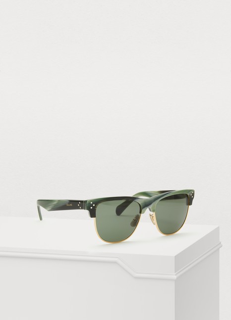 CELINE Black Frame 13 acetate and metal sunglasses