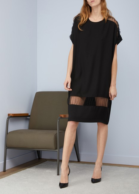 Maison Margiela Transparent detail dress