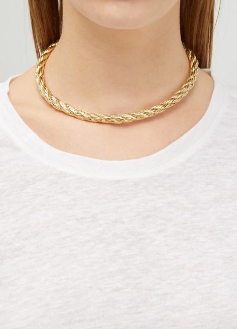 ImaïCorde PM torque necklace