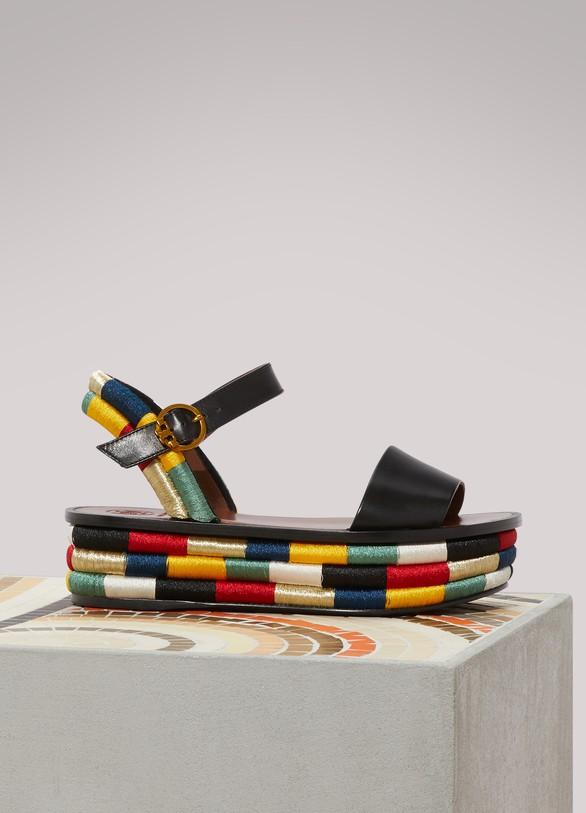 Tory BurchPlatform Camilla sandals