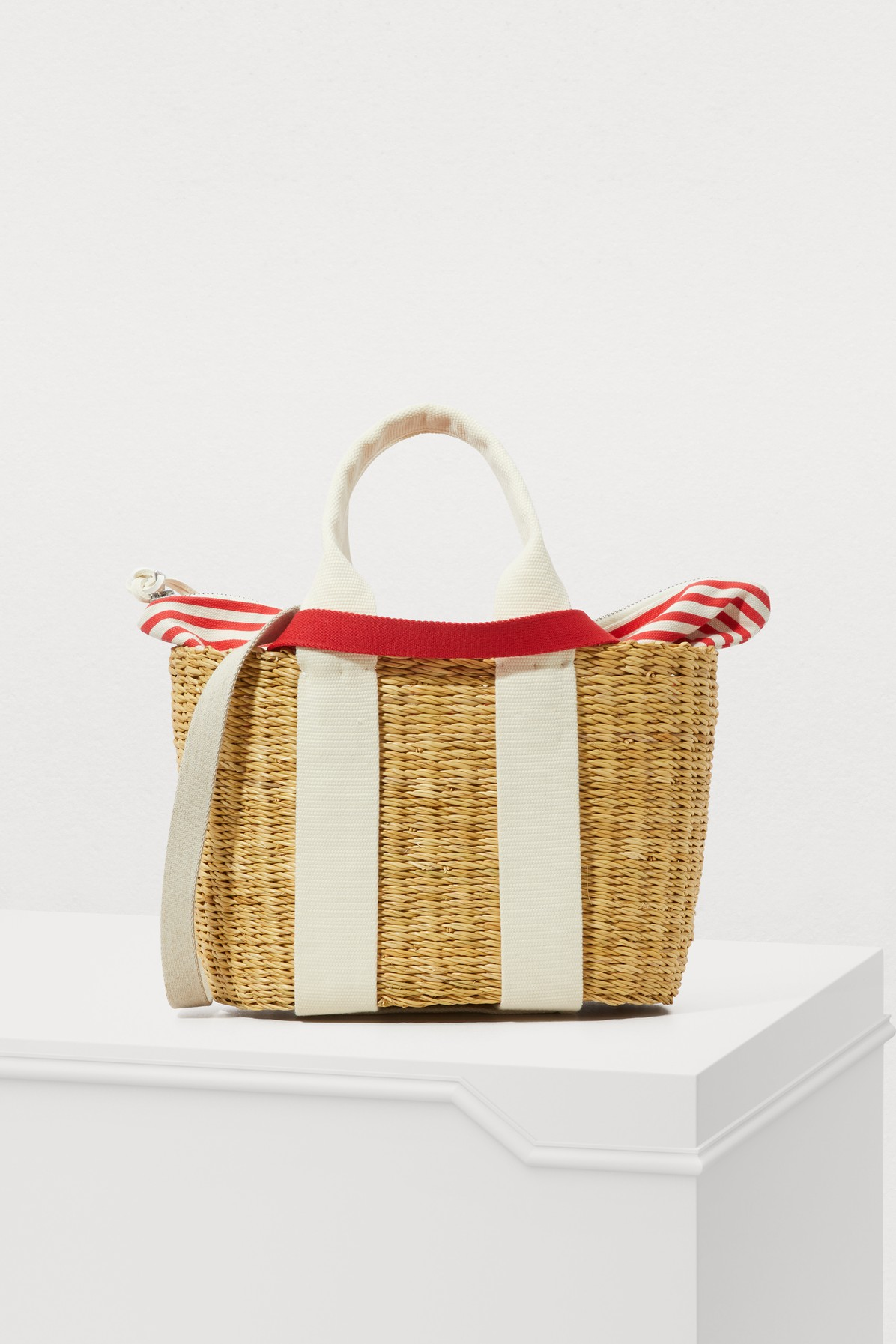P Hdl Tote Bag With Pouch
