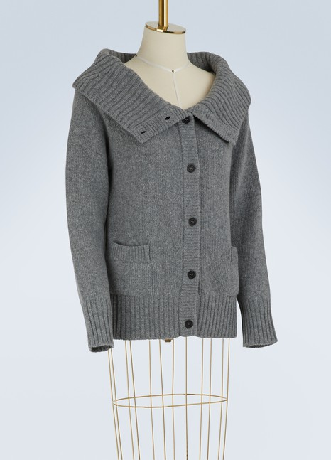 PradaOff-the-shoulder cardigan