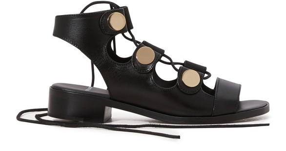 PIERRE HARDYHigh-heeled gladiator sandals