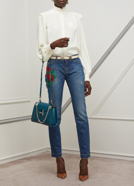 DOLCE & GABBANAPatch jeans