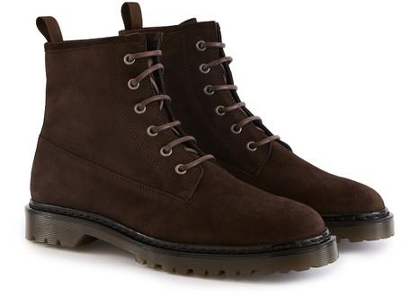 A.P.C.Ezra Flat Ankle Boots